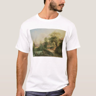 Forest near Vienna, 1852 (oil on canvas) T-Shirt