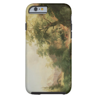 Forest near Vienna, 1852 (oil on canvas) Tough iPhone 6 Case