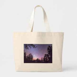 Forest Night Star Delight Jumbo Tote Bag