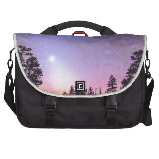 Forest Night Star Delight Bags For Laptop
