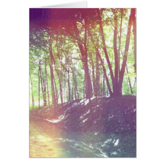 Forest notecard