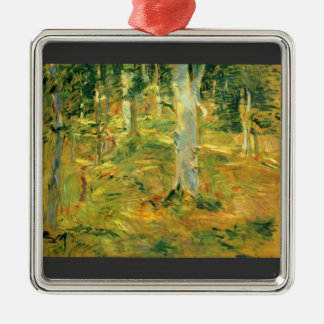 Forest of Compiegne by Berthe Morisot Metal Ornament
