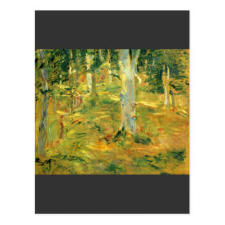 Forest of Compiegne by Berthe Morisot Postcard