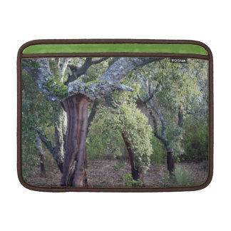 Forest of cork oaks or cork trees MacBook air sleeve