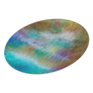 Forest of Dreams Melamine Round Plate