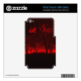 Forest of Faerie Blood iPod Touch 4G Skins