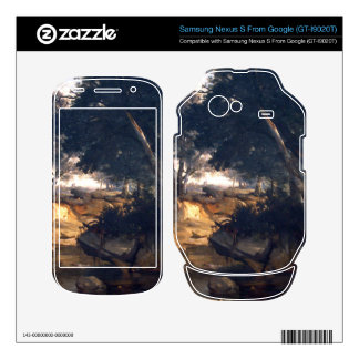 Forest of Fontainebleau by Corot Samsung Nexus S Skins