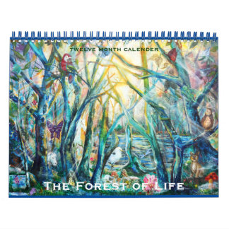 Forest of Life  Calender Wall Calendars