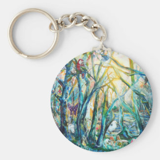 Forest of Life Keychain
