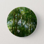 Forest of Palm Trees Tropical Green Button