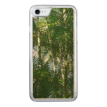 Forest of Palm Trees Tropical Green Carved iPhone 7 Case