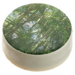 Forest of Palm Trees Tropical Green Chocolate Dipped Oreo