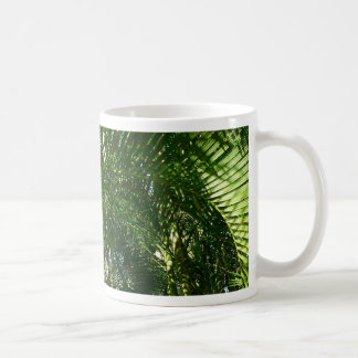 Forest of Palm Trees Tropical Green Coffee Mug