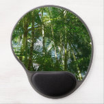 Forest of Palm Trees Tropical Green Gel Mouse Pad