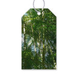 Forest of Palm Trees Tropical Green Gift Tags