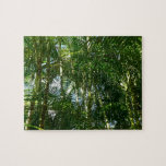 Forest of Palm Trees Tropical Green Jigsaw Puzzle