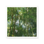 Forest of Palm Trees Tropical Green Paper Napkin