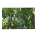Forest of Palm Trees Tropical Green Placemat