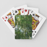 Forest of Palm Trees Tropical Green Playing Cards