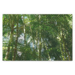 Forest of Palm Trees Tropical Green Tissue Paper