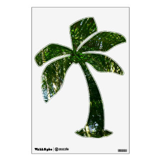 Forest of Palm Trees Tropical Green Room Graphics