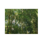 Forest of Palm Trees Tropical Green Wood Poster