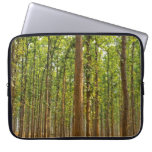 Forest of shorea robusta computer sleeves