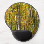 Forest of Yellow Leaves Autumn Nature Photography Gel Mouse Pad