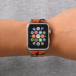 """Forest Orange and Green Camouflage. Camo your Apple Watch Band<br><div class=""""desc"""">Available here: http://www.zazzle.com/produkto</div>"""