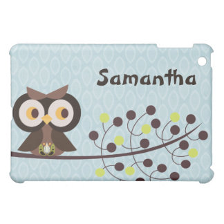 Forest Owl Woodland Hoot Night iPad Case
