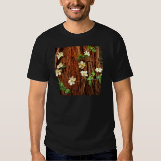 Forest Pacific Dogwood Redwood T-Shirt