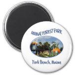 Forest Park animal Imán Para Frigorífico