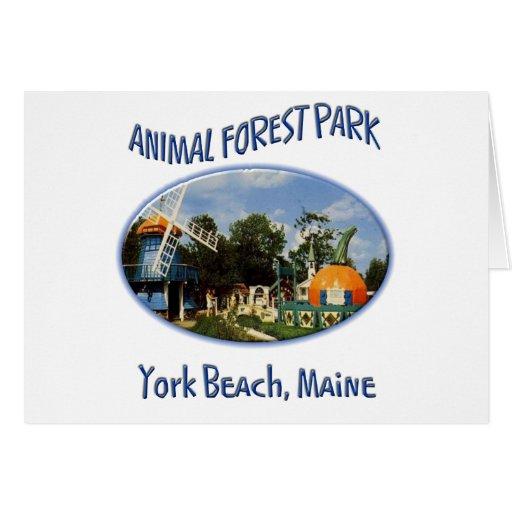 Forest Park animal Tarjetas