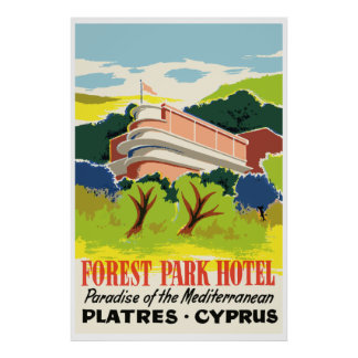 Forest Park Hotel (Yesos - Cyprus) Póster