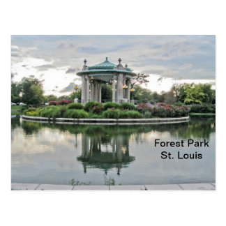 Forest Park St. Louis Missouri Postcard
