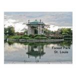 Forest Park St. Louis Missouri Tarjetas Postales