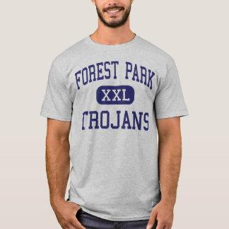 Forest Park - TROJANS - High - Beaumont Texas T-Shirt