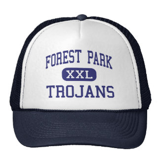 Forest Park - TROJANS - High - Beaumont Texas Trucker Hat