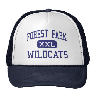 Forest Park Wildcats Middle Franklin Trucker Hat