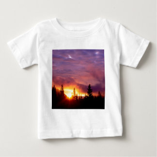 Forest Part Skies San Isabel Baby T-Shirt