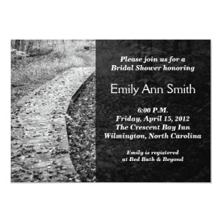 Forest Path Bridal Shower Invitations