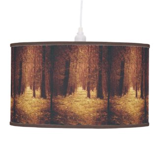 Forest Path... Hanging Lamp