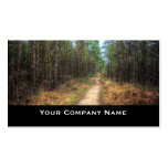 Forest Path HDR Business Cards