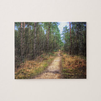 Forest Path HDR jigsaw puzzle