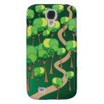 Forest Path iPhone 3G/3GS Case Samsung Galaxy S4 Case