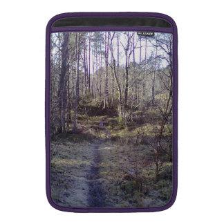 Forest path MacBook air sleeve