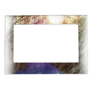 Forest Path Magnetic Picture Frames