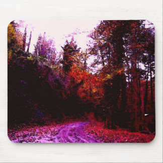 Forest Path Mouse Pad