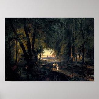 Forest Path nar Spandau Poster