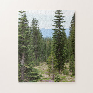 Forest Path on Mt Shasta Puzzle